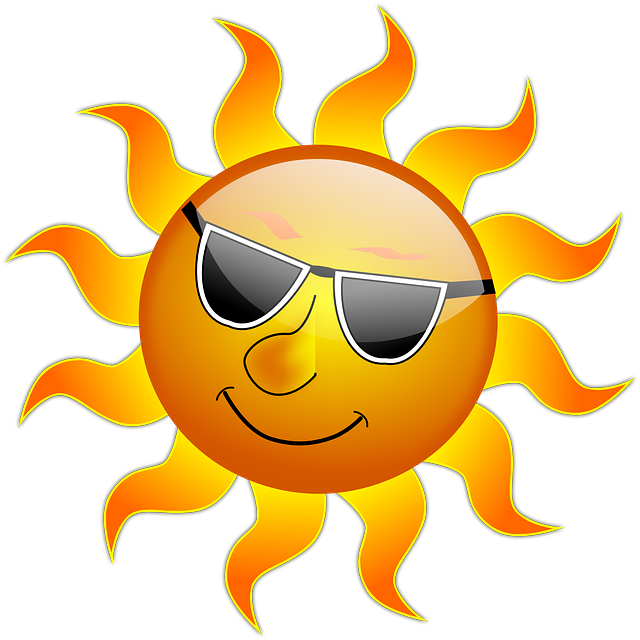 太陽のイラスト