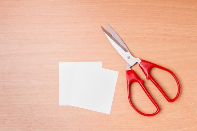 紙とハサミ