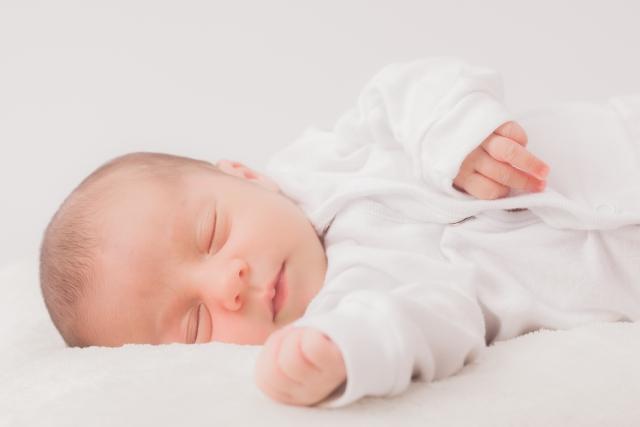 肌着のヘビーユーザーは赤ちゃん