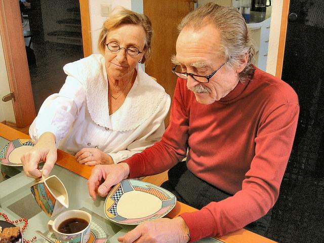 高齢者の食事の傾向