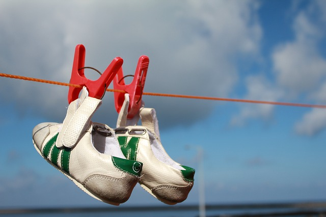 オキシクリーンを使った靴の洗い方